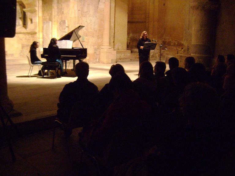 Concierto piano y poesía. Domingo 7 de Marzo 19hs, San Juan de los Caballeros, Segovia (España)