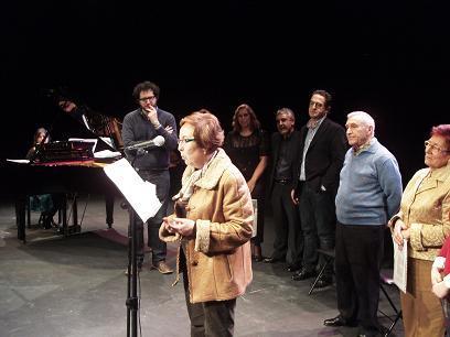 Valdemoro 4 de Marzo de 2010 concierto de piano y poesía en el Teatro Juan Prado