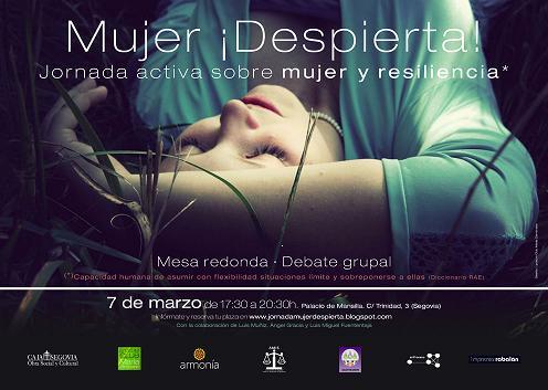 Mujer, Despierta. Palacio de Mansilla. Segovia 7 de Marzo 2011